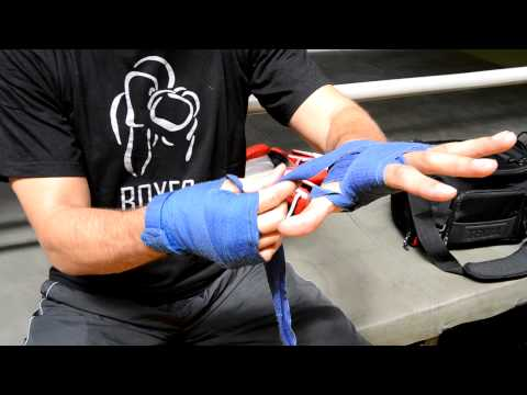 Bendaggio Mani Fasce - Hand wrapping for  Boxe