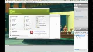 Creating a HTML5 website with template using Dreamweaver CS5 Tutorial - 1