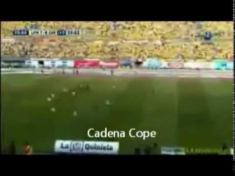 Cordoba cf  Las Palmas, Gol de Ulises Dávila (Cope y Canal Plus)