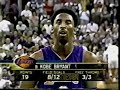 Kobe Bryant greatest games: 48pts 16rbds in game 4 vs Kings