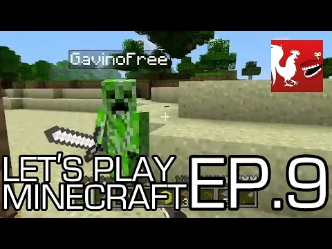 Let's Play Minecraft Part 9 - With Geoff, Gav, Michael, Ray and Jack