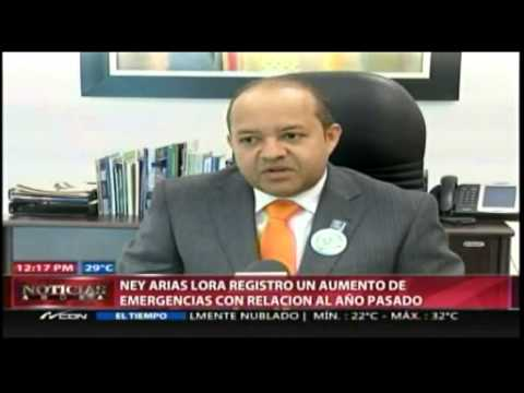 Hospital Ney Arias registra aumento de emergencias…