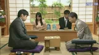 将棋の記録係のお姉さん、ペンを飛ばす珍事。そしてテレ笑いが可愛い