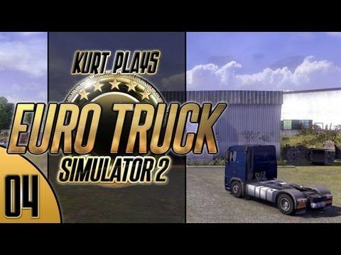Kurt Plays Euro Truck Simulator 2 - E04 - Missed Turn