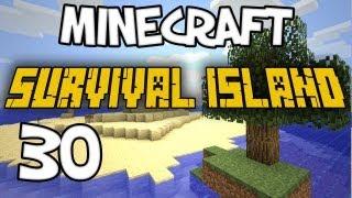 "Minecraft - ""Survival Island"" Part 30: ENVIRONMENTALLY FRIENDLY PIRATES"