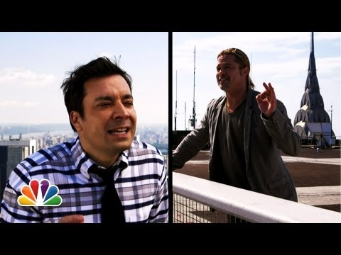 """Yodel"" with Jimmy Fallon & Brad Pitt"