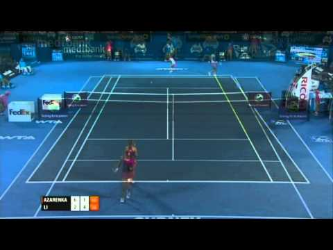 Victoria Azarenka v Na Li Highlights Women's Singles Final: Sydney International 2012