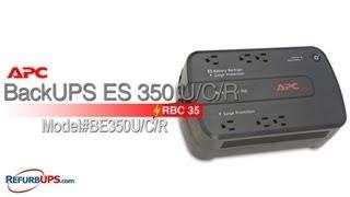 APC RBC 35 in APC BackUPS ES350UCR