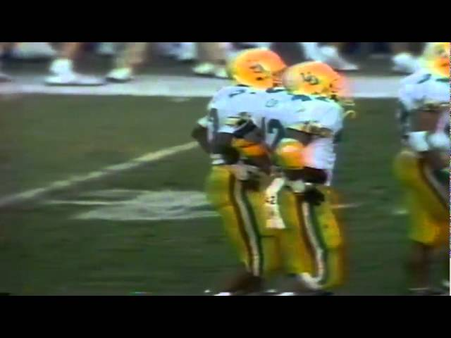 Oregon FB Latin Berry 10 yard run vs. UCLA 11-11-1989
