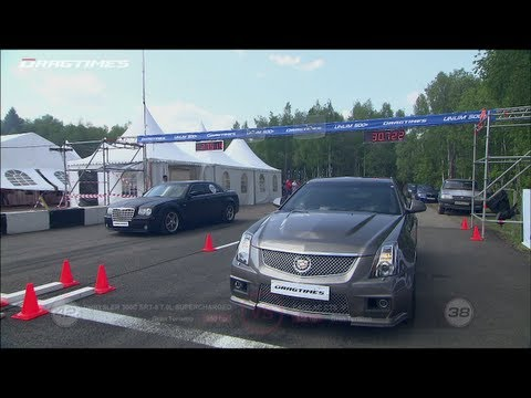 Cadillac CTS-V vs Chrysler 300C SRT-8 vs BMW M6 ESS VT3