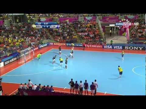 Brazil vs Colombia - FIFA Futsal World Cup 2012 - 1/2 finals