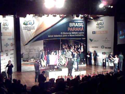 Olimpíada do Conhecimento 2008 Etapa Curitiba - Premiação