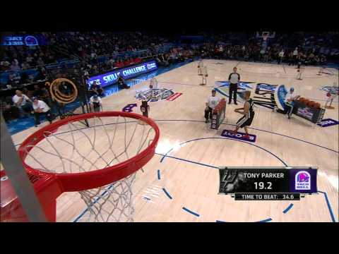 Taco Bell Skills Challenge: Tony Parker`s Final Round