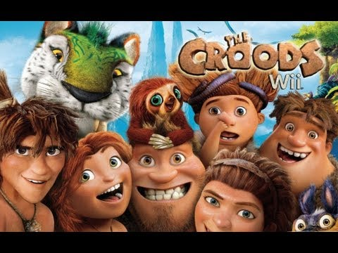 The Croods Wii - Movie Game poster