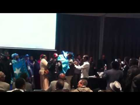 Somali Australian celebration for the new president