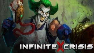Infinite Crisis - Gaslight Joker Champion Profile