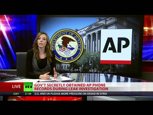 Justice Department admits to spying on Associated Press