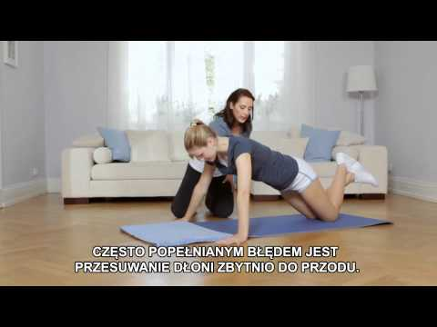 Dbaj o ciało z NIVEA Ćw. 2 - Zgrabne ramiona, półpompki