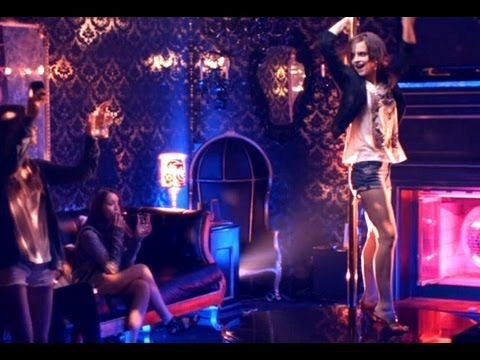 The Bling Ring - MTV Pole Dancing Scene (HD) Emma Watson
