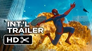 The Amazing Spider-Man 2 Official International Trailer (2014) - Andrew Garfield Movie HD