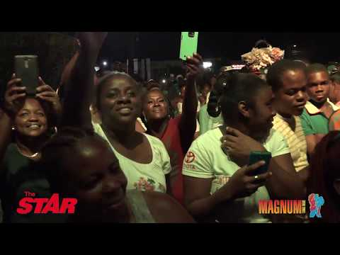 MAGNUM STAR LIVE: Entertainers electrify Lucea