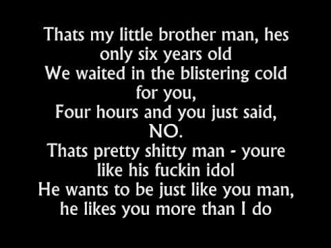 STAN - Eminem (lyrics video)