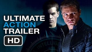 The Bourne Legacy Ultimate Action Trailer - Matt Damon, Jeremy Renner Movies HD