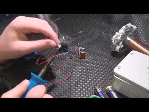 How to make a small Tesla Coil Part 2