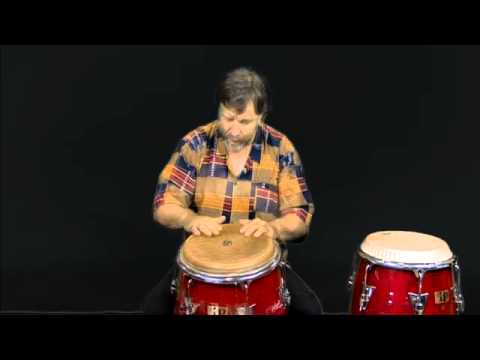 Conga Drum Open Tone Technique