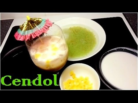 How to Make Cendol (Cara Membuat Cendol)