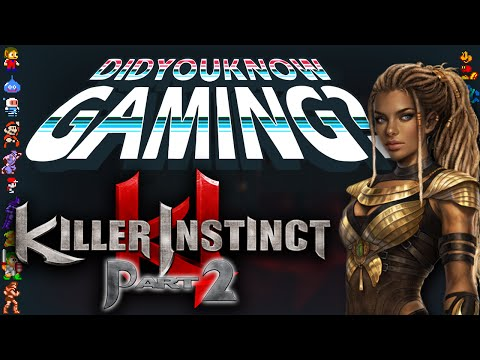 Killer Instinct Part 2 - Did You Know Gaming? Feat. Two Best Friends Play (Matt & Woolie)