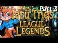 jaru tries: league of legends part 3 intense battle