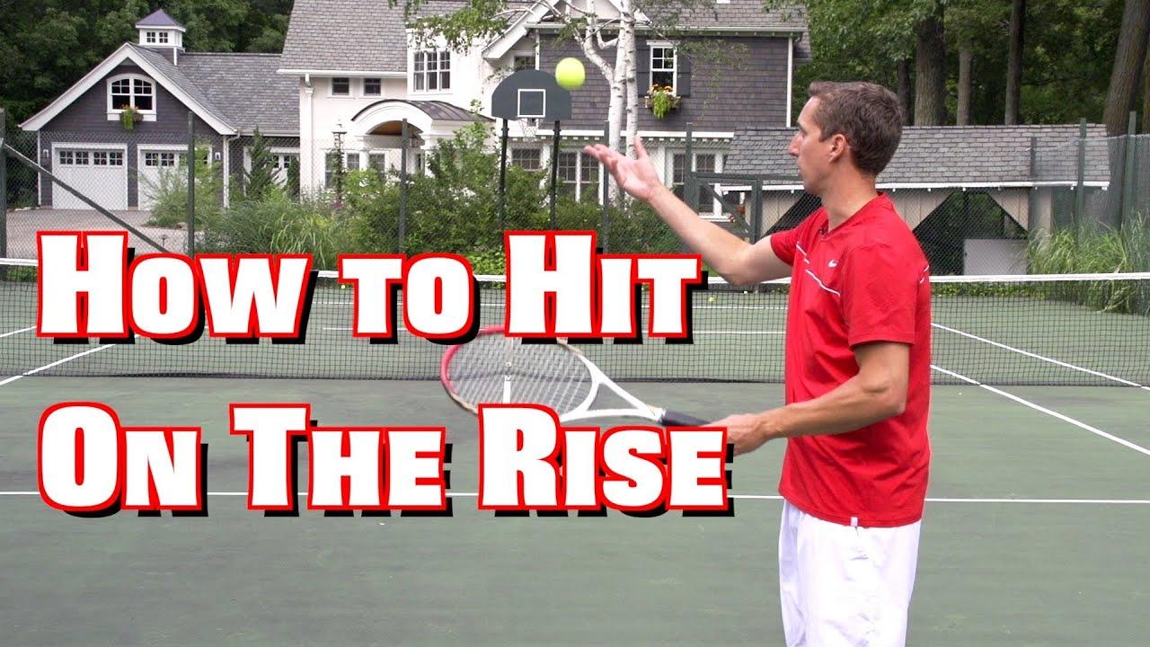 Forehand Groundstroke Lesson Tennis Groundstroke Lesson