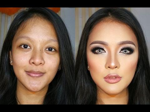 Eye contouring makeup