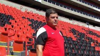 El nuevo Director Técnico Xoloitzcuintle habla sobre su llegada a Tijuana.
