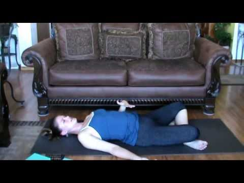 Supta Sukhasana/Reclined Crossed Leg Position - Yoga for Tight Hips