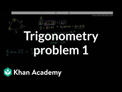 IIT JEE Trigonometry Problem 1