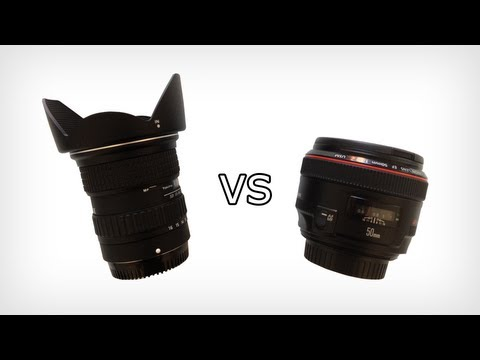 Prime Lens vs Ultra Wide Angle Lens
