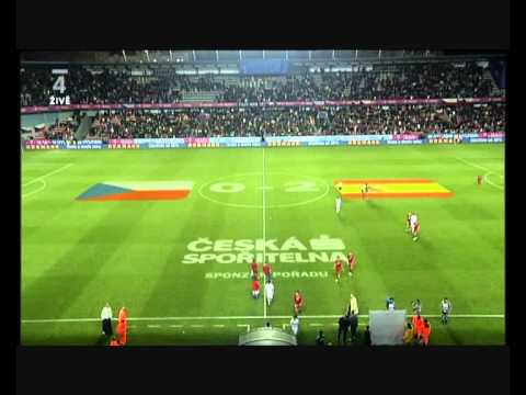 Czech Republic - Spain  0:2  (7.10.2011) Highlights