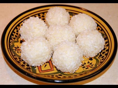 Moroccan Coconut Truffles Recipe - CookingWithAlia - Episode 60