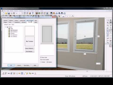 Home Design Software - Overview - Doors and Windows