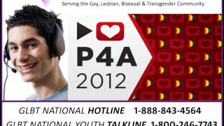 Project for Awesome 2012: GLBT National Help Center