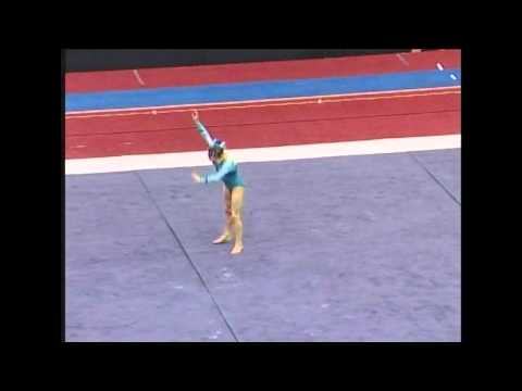 Jordyn Wieber (Geddert's) - 2007 US Jr Nationals - Floor (Day 1)