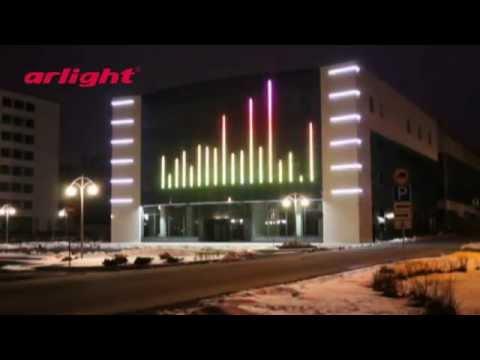 Подсветка торгового центра Fashion Gallery