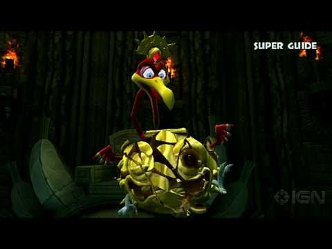 Donkey Kong Country Returns World 3-B Boss Ruined Roost - ignentertainment