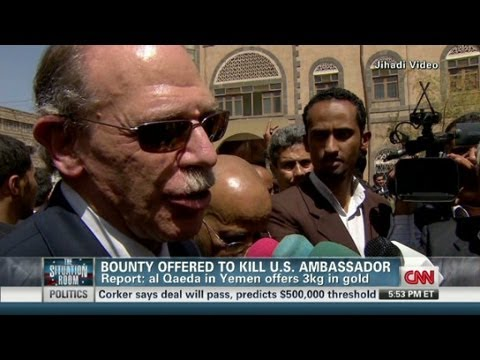 The Situation Room - Yemen U.S. Ambassador Bounty