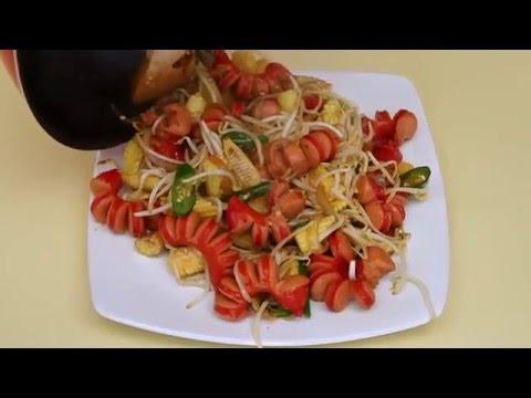 Dapur Umami - Sosis Tauge Teriyaki