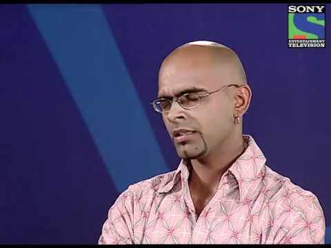 Raghu in Indian Idol audition round