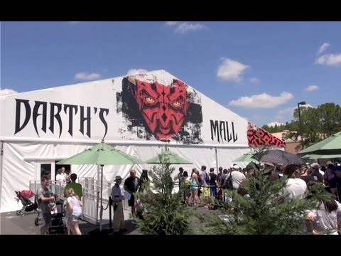 Star Wars Weekends Darth's Mall Merchandise Tent Disney's Hollywood Studios Walt Disney World