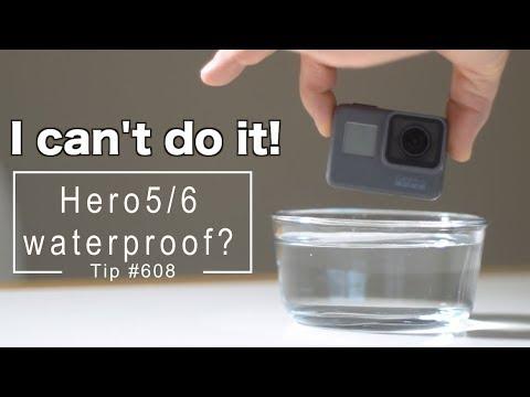 GoPro Hero5 / Hero6 / Hero7 Really 100% waterproof?! GoPro Tip #608 | MicBergsma